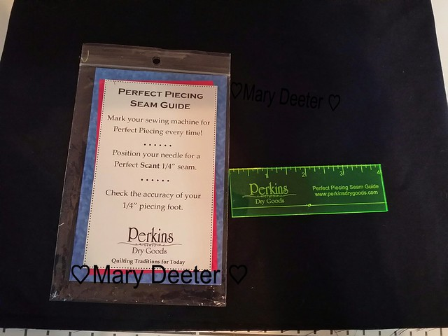 Perkins perfect piecing seam guide