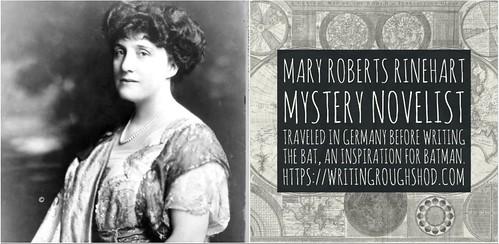 MARY ROBERTS RINEHART #100travelHERS   by sandrakaybee