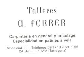 Tallers Albert Ferrer