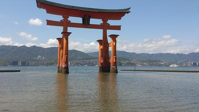 Torii-Hiroshima-Japan
