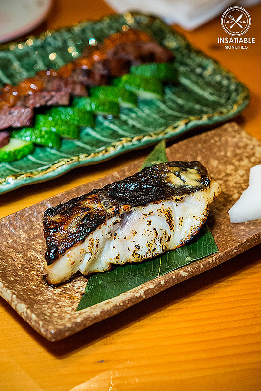 Charcoal Grilled Black Cod: En Toriciya, Crows Nest. Sydney Food Blog Review
