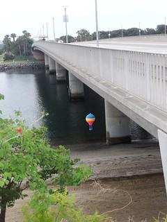 Air Balloon Yarn Bomb San Diego