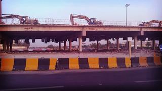 tearing down of kiefan bridge