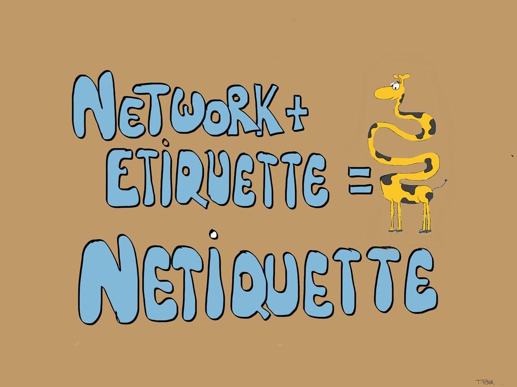Etiquetten Network oder Netiquette | www.innovationskommunik… | Flickr