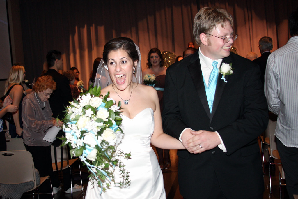 Oh hey, we're married!