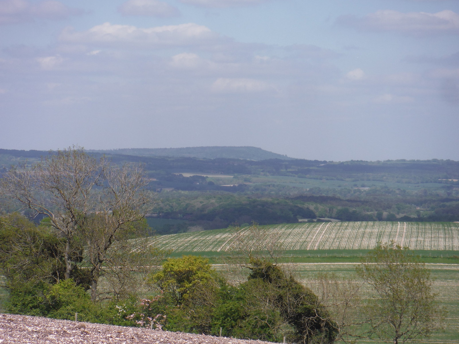 Rother Valley with Black Down in the distance SWC Walk Rowlands Castle Circular - Extension