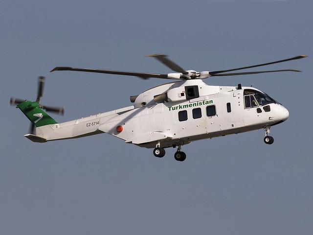 Turkmenistan Government | AgustaWestland AW-101 Mk643 | EZ-S714