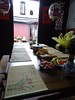 瓊林79號民宿(樓仔下民宿)大廳用餐
