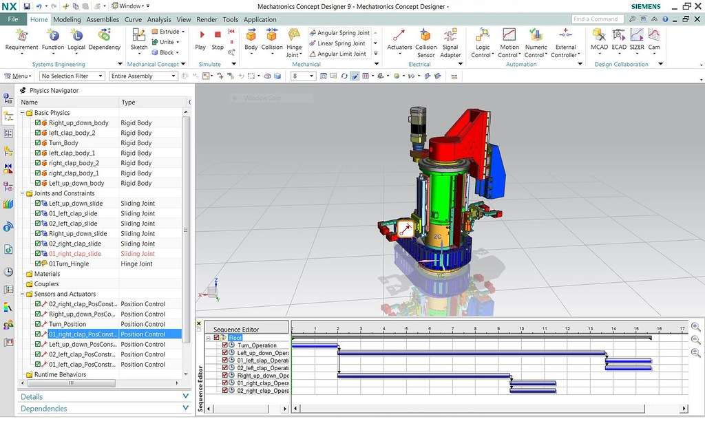 NX Mechatronics Concept Designer - 1 | Siemens PLM Software