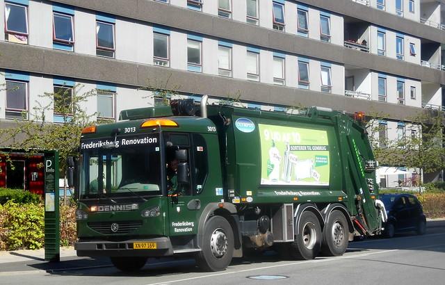 Fredriksberg Kommune LHD Dennis 3013 XN97169
