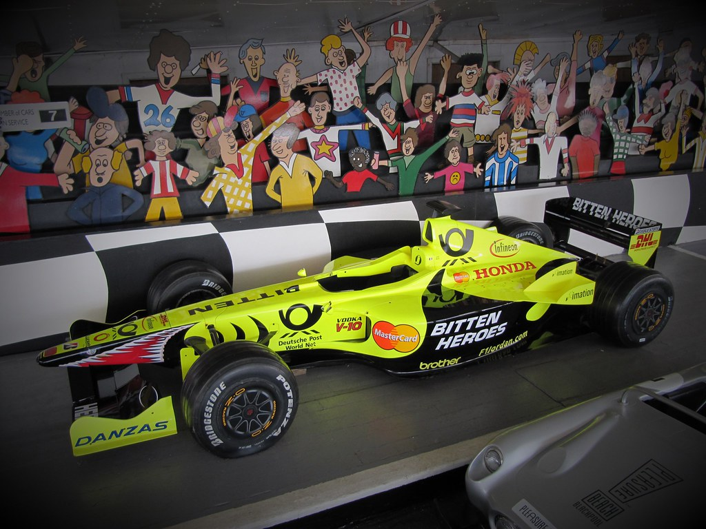 2001 Jordan Ej11 Formula 1 Car Imhill Flickr