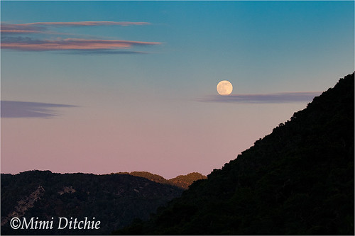 sunset summer moon clouds landscape fullmoon solstice getty gettyimages summersolstice mimiditchie mimiditchiephotography