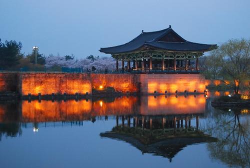 Estanque Anapji de Gyeongju