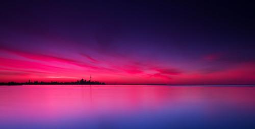 toronto ontario canada sunrise canon eos downtown 7d lakeshore lakeontario lakeshoreblvd torontoskyline torontosunrise canon7d lakeshorevillage