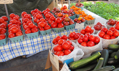 Tomato stand, Farm Market in St. Mary's