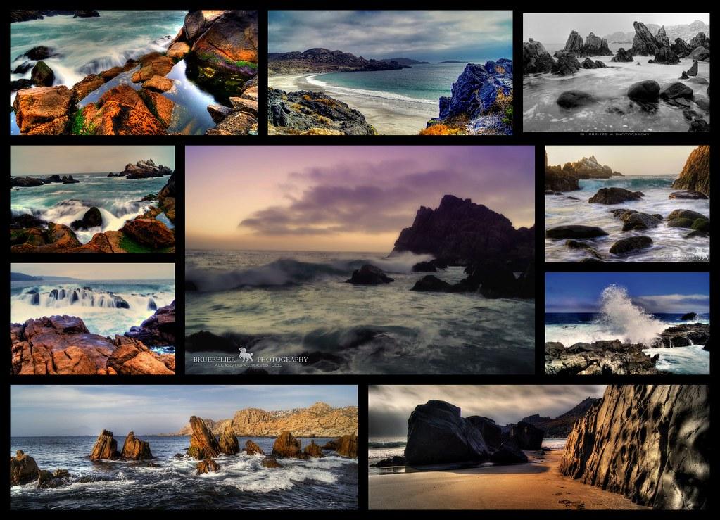 South Pacific Ocean Collage Collage Del Oceano Pacifico Flickr