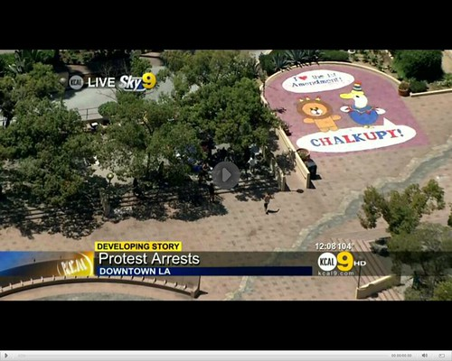 Chalkupy Fresh Juice Party Pershing Square | by mpeake