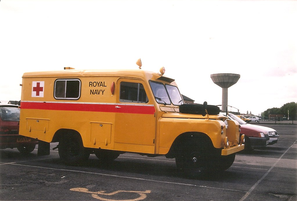 Land Rover ambulance LWB series II Royal Navy