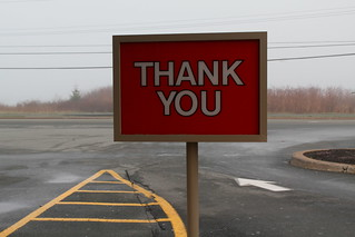 Thank you | by Avard Woolaver