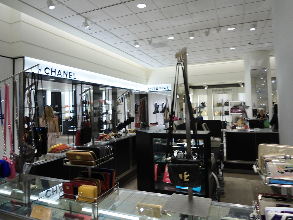 cbd6ebd839cf8d by PatricksMercy Nordstrom downtown Seattle- Chanel and Yves Saint Laurent  accessories and handbags. | by PatricksMercy