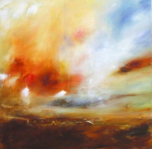 "Space Exhibit 3rd Place Winner: ""Strath of Kildonan"" by Ann Gruchy"