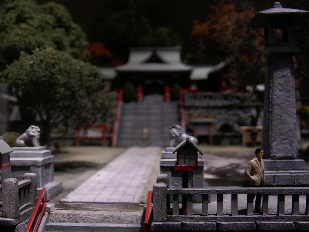 足利織姫神社(山本 日出男 氏 作品)
