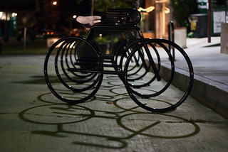 19163 Bike parking at east end of Sunset Triangle Plaza at Griffith Park Blvd. and Sunset Blvd. | by geekstinkbreath