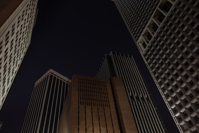 Stars above Water Street