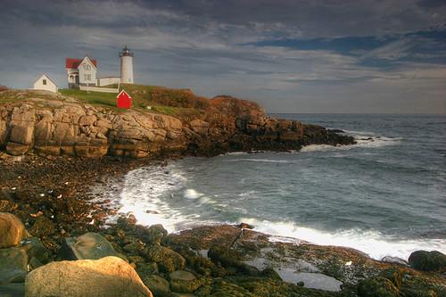 york usa lighthouse maine