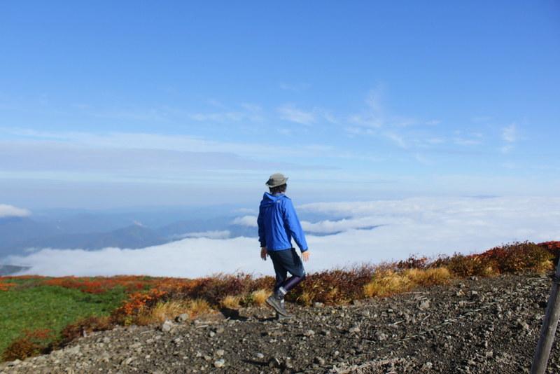 栗駒山の山頂