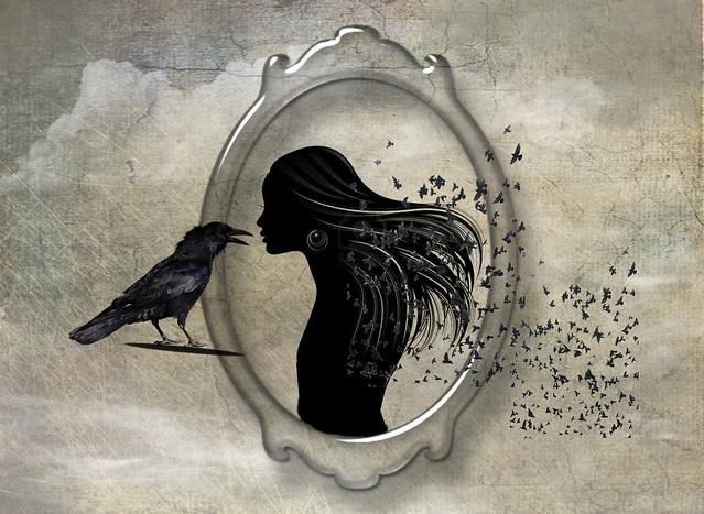 La dame aux oiseaux