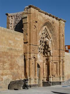 Entrance to Ishak Pasha Palace | by retrotraveller