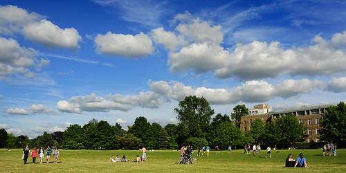 UK - Oxford - University Parks Panorama