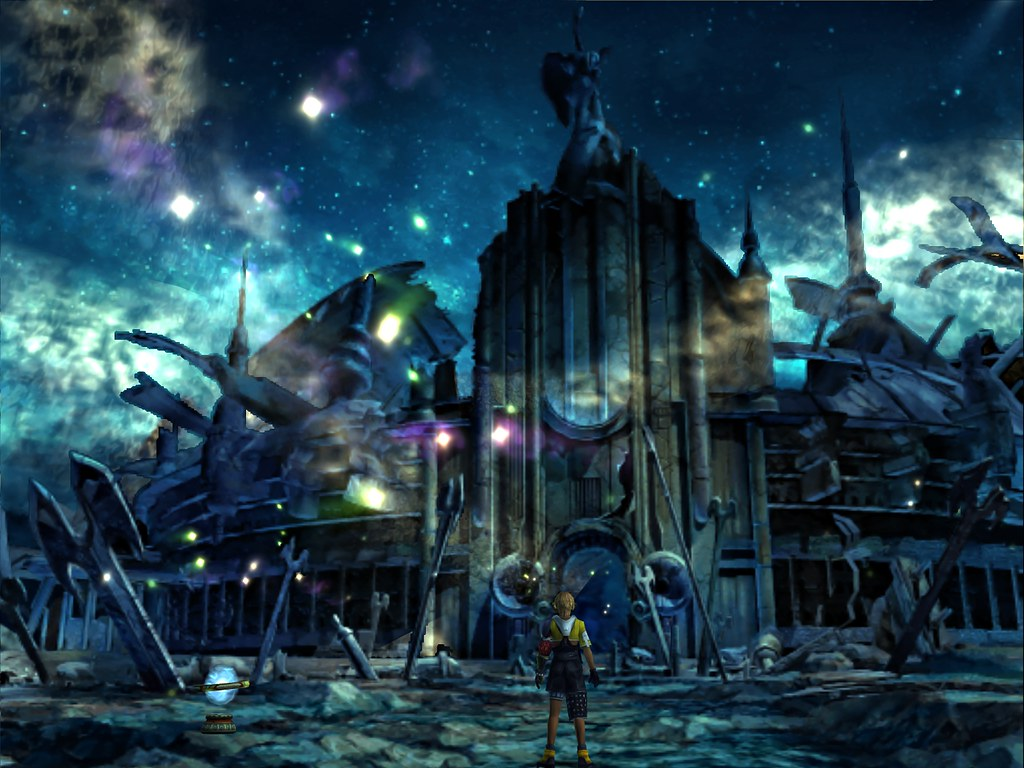 Final Fantasy X Ffx Hd Wallpaper Set 18 Zanarkand Ruins 1 Flickr