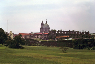 Ruins of Sta Lucia in Intramuras