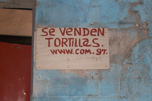 ¿Tortillas on line?