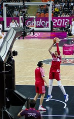 Irina Osipova Russian Women's Basketball London Olympics 2012