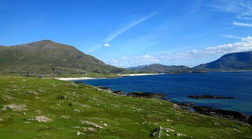 ireland seascape galway landscape atlantic coastal beaches mayo fjord machair silverstrand mweelrea killary glassilaun maumturks lazybeds twelvepins benchoona ugool