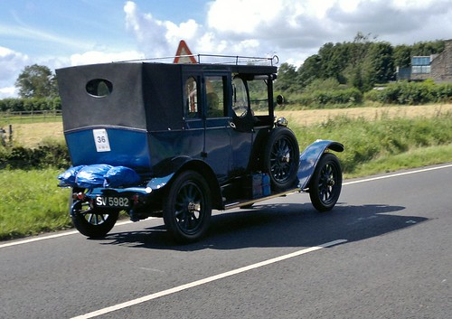 Edwardian era, Renault Type EU Open Drive of 1917, SV 5982, on B6054 | by NE2 3PN
