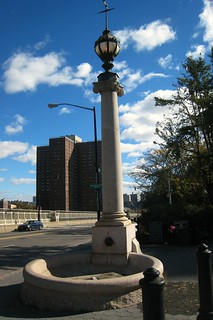 beautiful Hooper Fountain, designed for man and horse   by KLGreenNYC