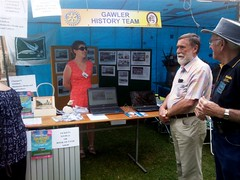 Gawler History Team stand at 2012 Village Fair