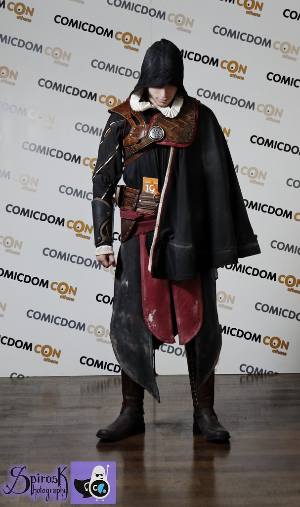 Grand Winner Assassin S Creed Black Robes Cosplay Comicd Flickr