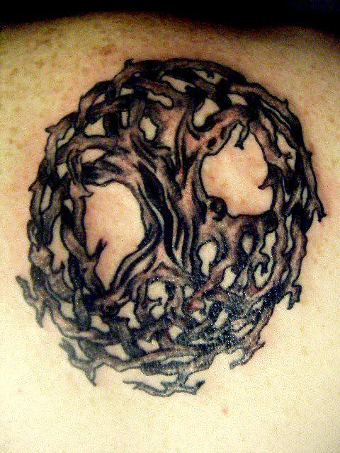 b779ada1f Tree of Life Tribal black and grey Tattoo | Flower tattoos, … | Flickr