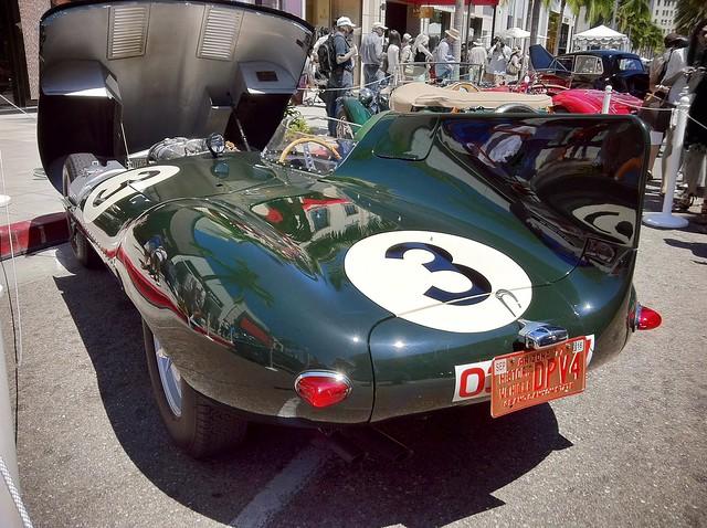 Jaguar 1956 D Type