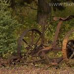 Old field mower in Cummings Meadow