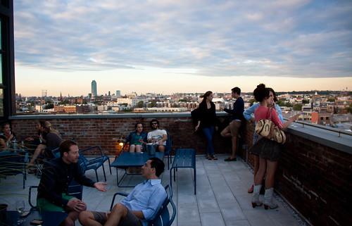 The Ides: Wythe Hotel Rooftop Bar - Williamsburg, Brooklyn | by ChrisGoldNY