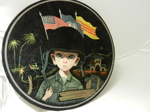 Black Velvet done in Viet Nam for American soldiers.   Sold and on it's way to the UK.