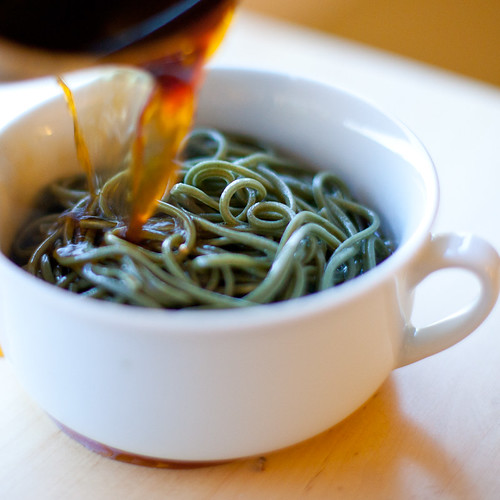 Soba and Broth | by teenytinyturkey