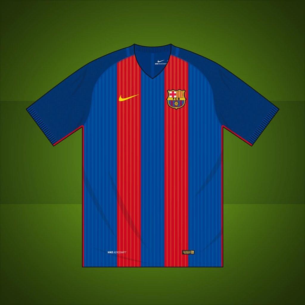 Barcelona home shirt 2016/2017 #fcb #barcelona #barca #mes