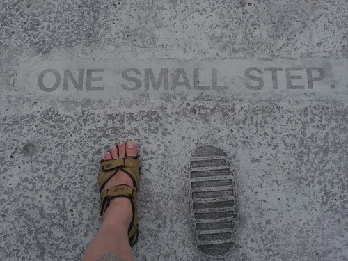 One small step.